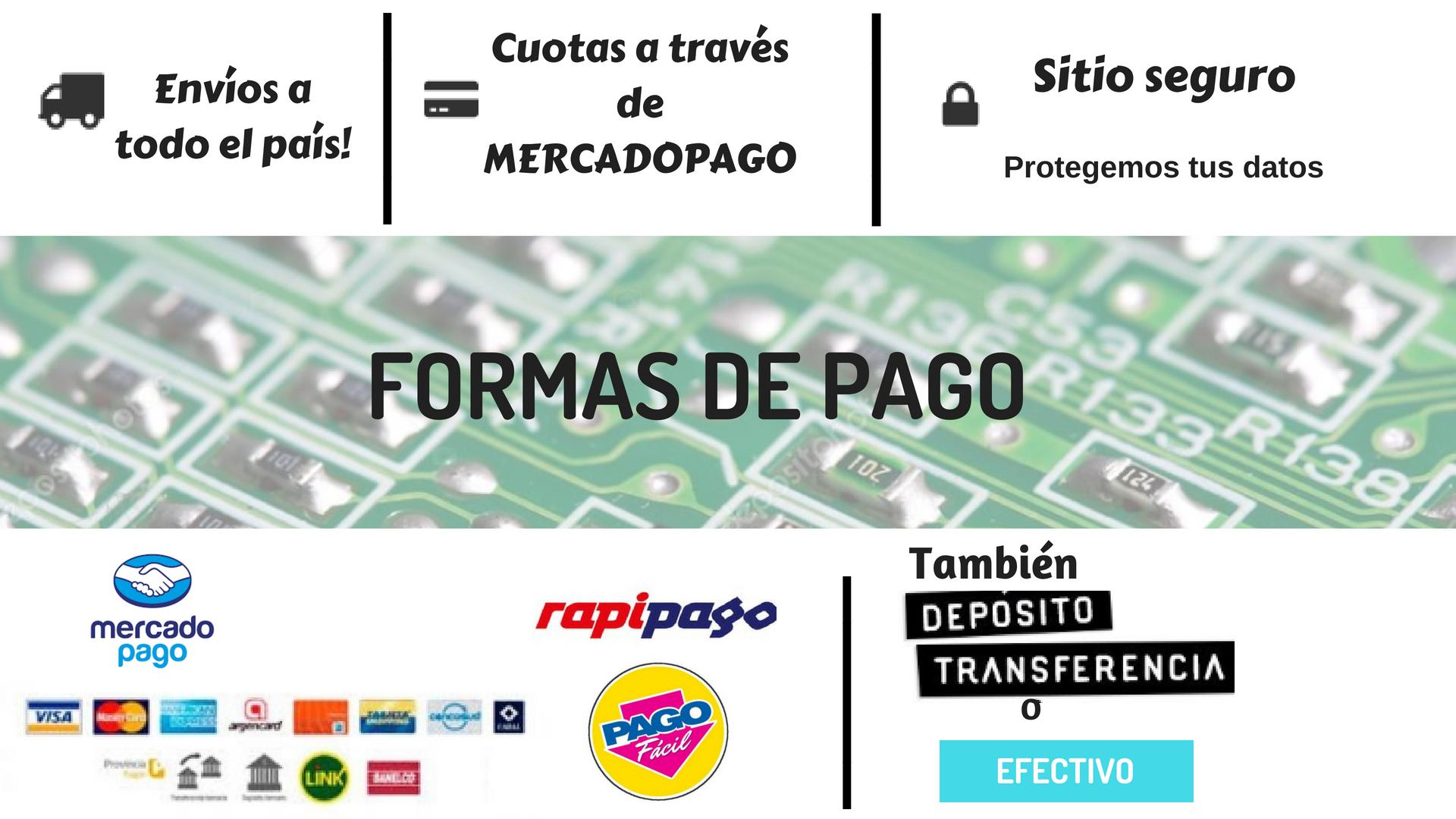 FORMAS DE PAGOO